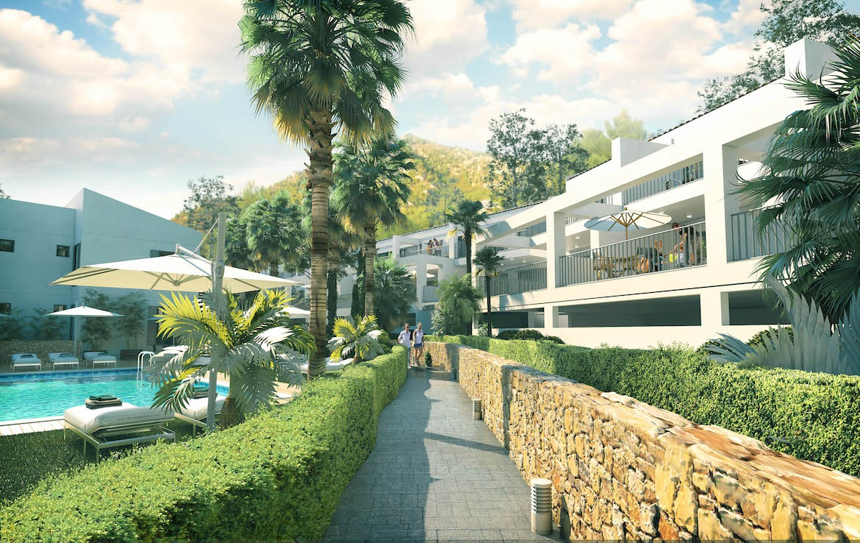 Terrace apartment in Capdepera