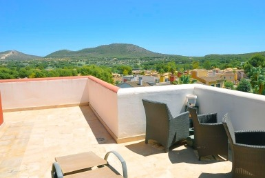 penthouse in Santa Ponsa.
