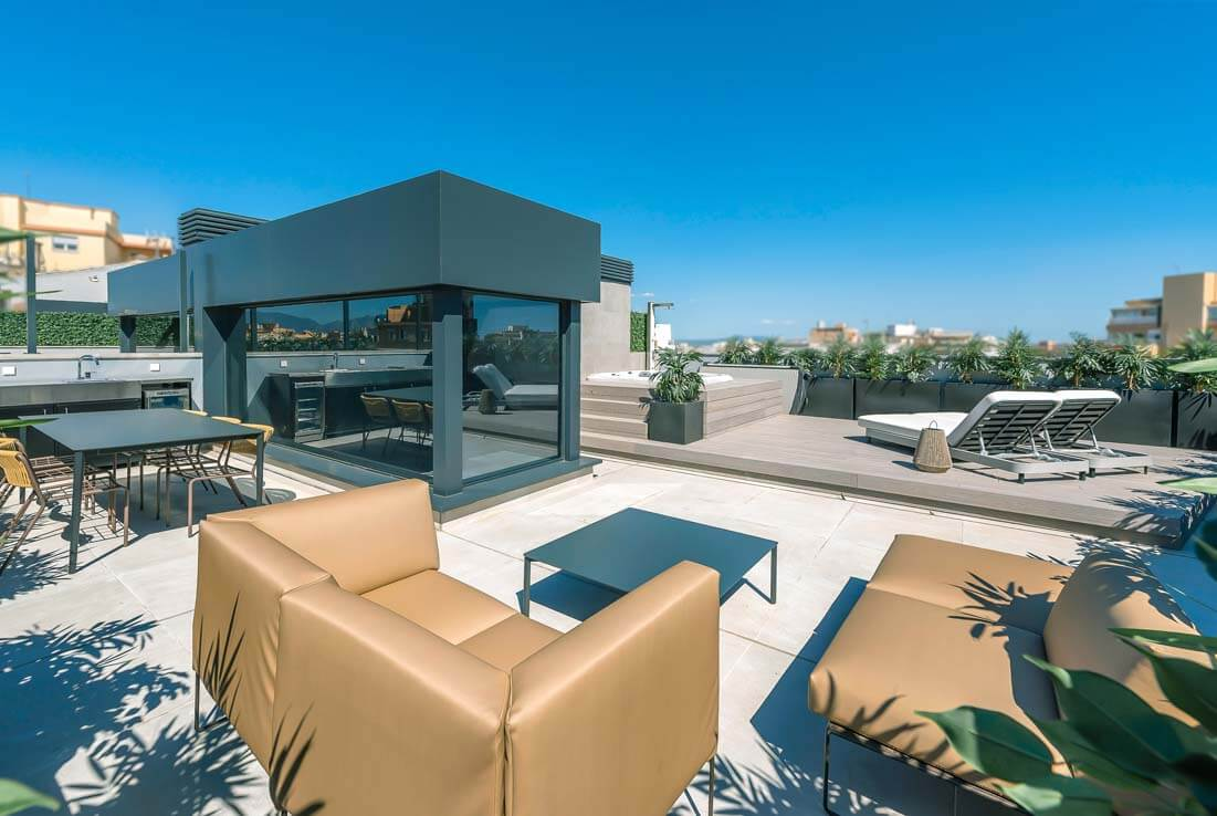 Penthouse in Palma old town