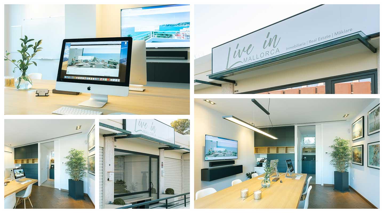 Live in Mallorca office in Illetas in Mallorca