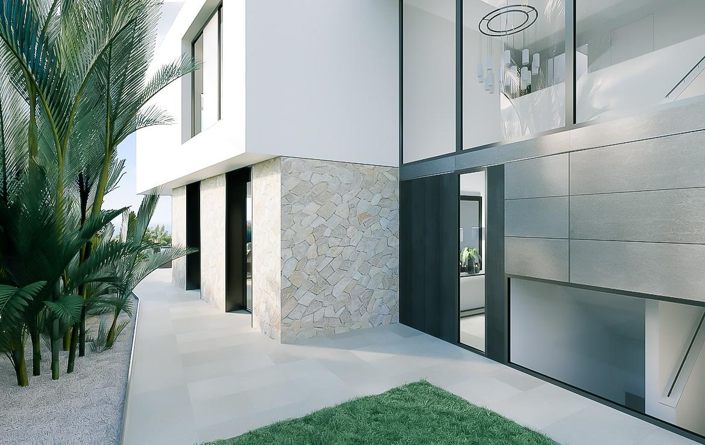 newly built villa in Cas Catala
