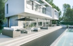 newly built villa in Cas Catala