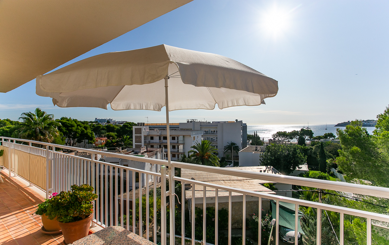 terrace with views in palmanova
