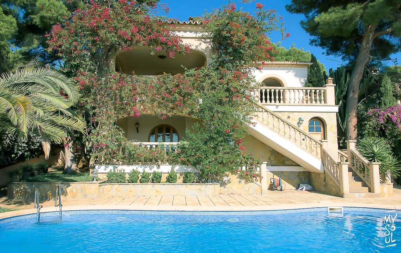 villa with sea views in portals nous